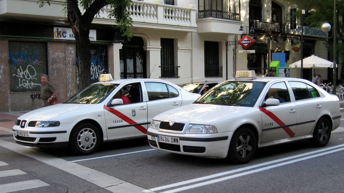 Taxis de Madrid.