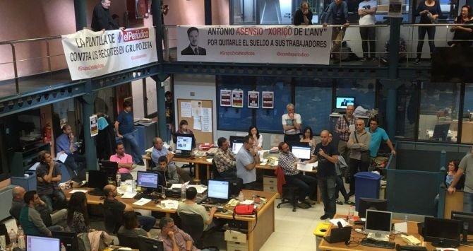 El Periódico de Catalunya  planea un recorte drástico de plantilla