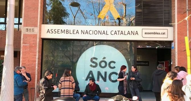 La Guardia Civil registra las sedes de ANC y Òmnium