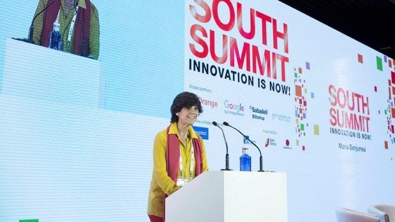 María Benjumea,presidenta de Spain Startup-South Summit.