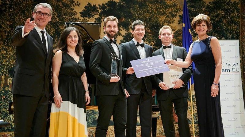 La española Bioo gana el Premio Amcham al Emprendimiento Juvenil en Europa
