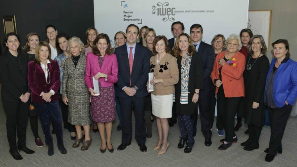 CaixaBank reconoce la trayectoria de las mujeres directivas en España